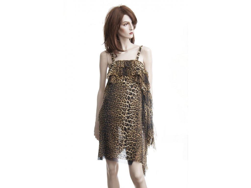 gaultier saty s leopardim vzorem 4