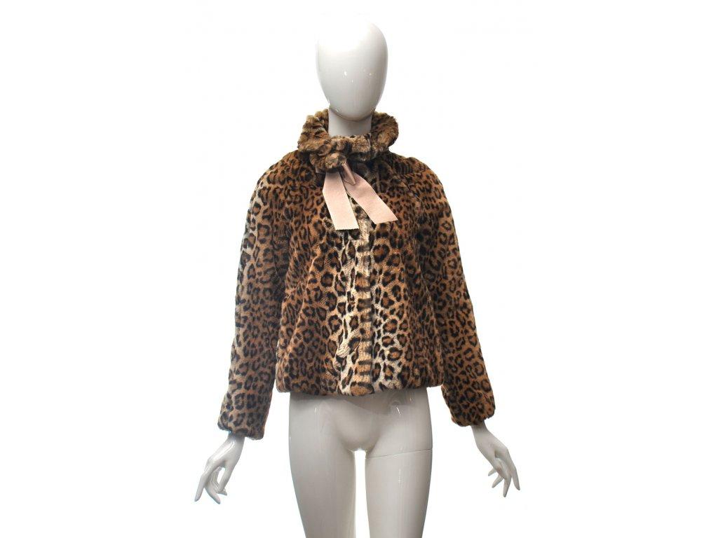 moschino umely leopardi kozisek 34 36 1
