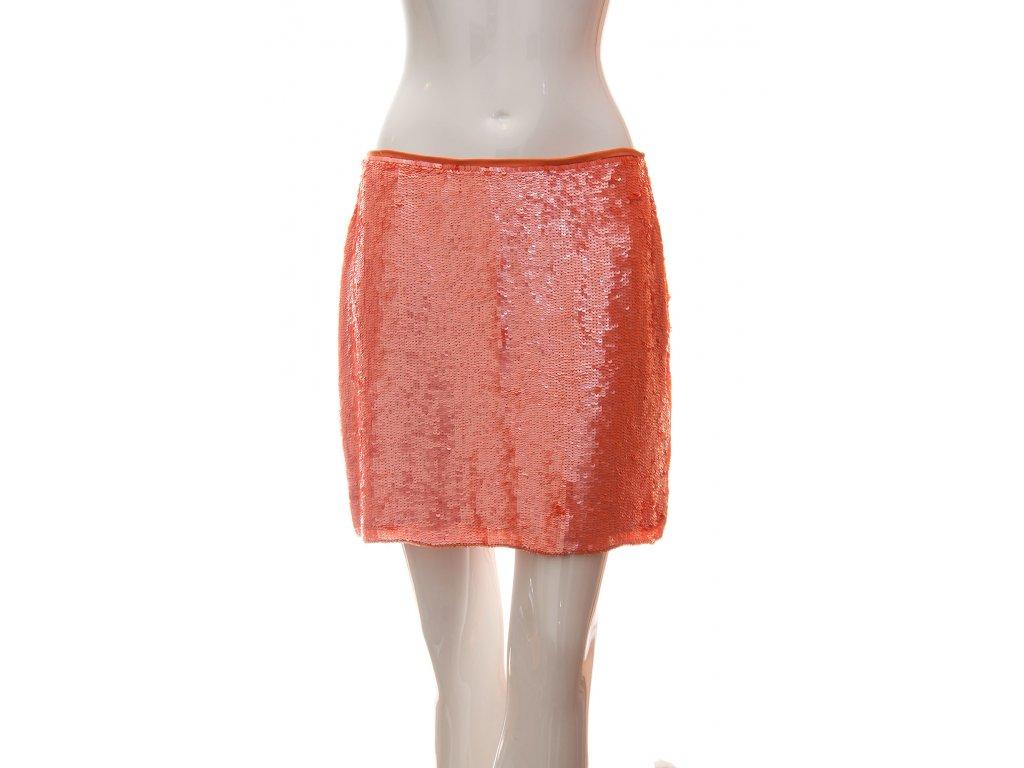 hedvabna flitrovana sukne 1