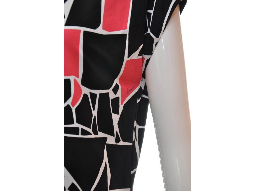 GUCCI skvělé šaty s grafickým vzorem 34 - Nana Vogue b600b03455a