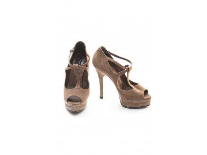 bally luxusni hnede boty 1