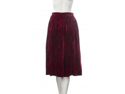 yves saint laurent cervena semisova sukne 1