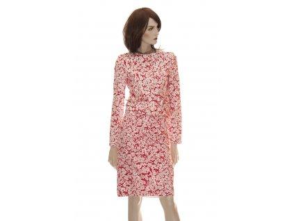 burberry bavlneny kostym s kvetovanym vzorem 1