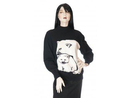 saint john jedinecny svetr s lednimi medvedy 1