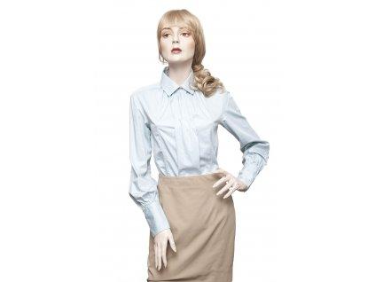 hugo boss svetle modra bavlnena kosile 1