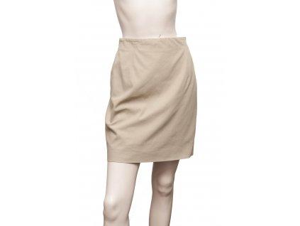 jil sander bezova sukne bezove barvy 1