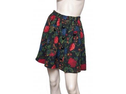 emanuel ungaro krasna vintage sukne 1