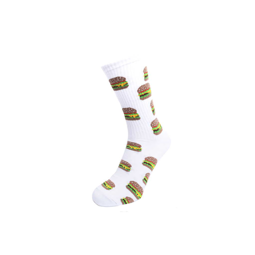 skate socks burger