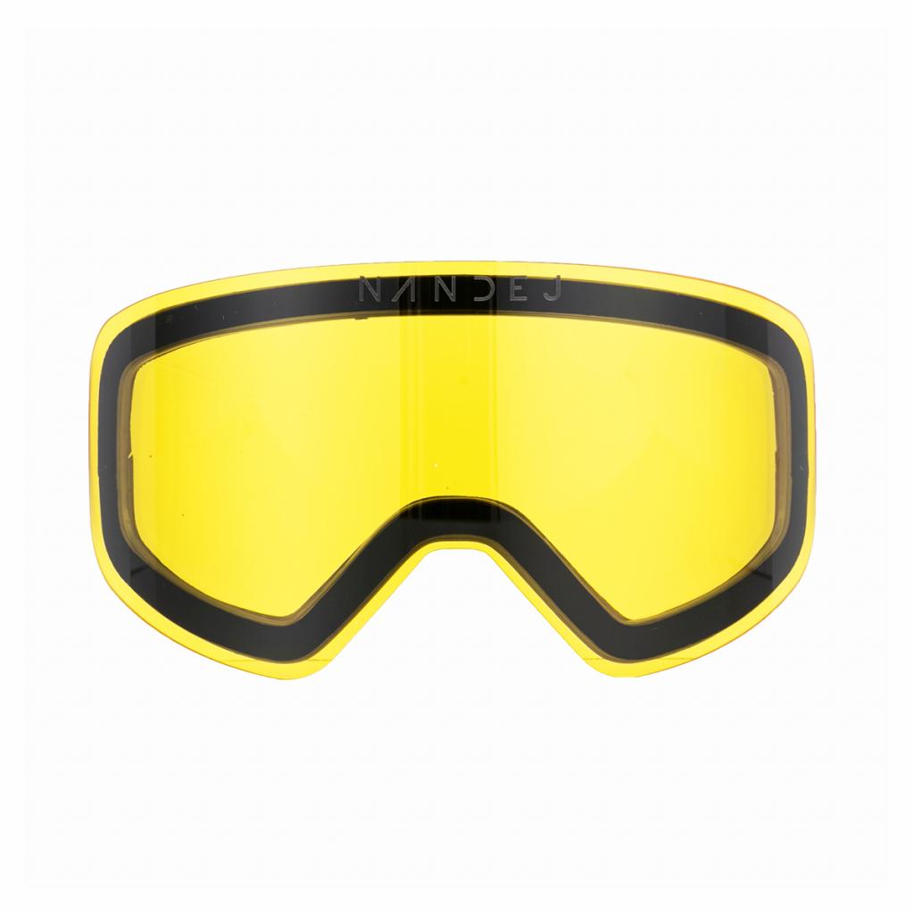 sklo žluté