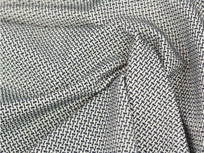 BIO Žakár - Hamburger liebe Bliss webster knit GOTS