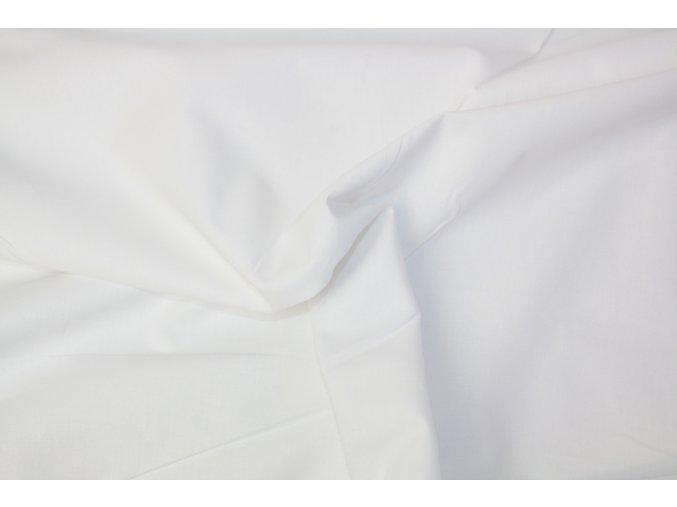 Bavlněné plátno - bílé 050