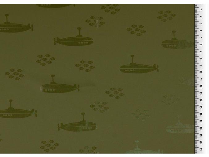 pláštěnkovina ponorky khaki