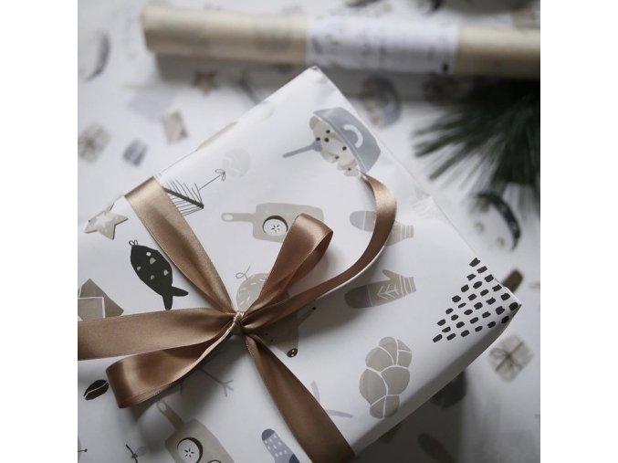 Vánoční balící papír MalovAnna - 5 archů