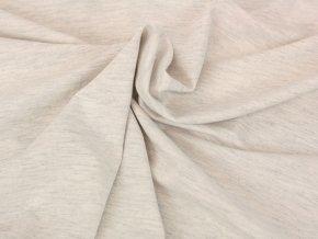 Bavlněný úplet - světle šedý melír U276051