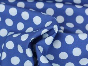 Softshell - Dots modrá