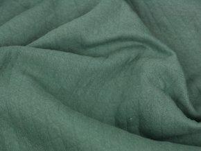 Bavlněný prošev - zelený
