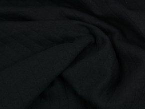 Bavlněný prošev - černý