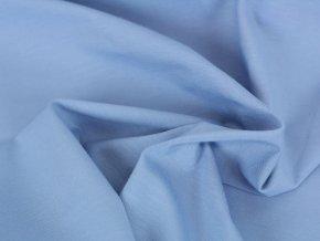 Bavlněný úplet - blankytně modrý 657