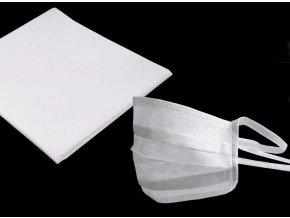 netkaná textilie pro výrobu roušek
