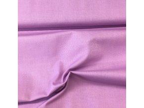 Bavlněné plátno jednobarevné - růžovofialové