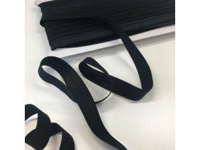 Lemovací pruženka šíře 18mm černá