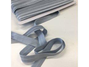 Lemovací pruženka šíře 18mm šedá