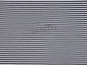 SPANDEX STRIPES NAVY KC3003 308