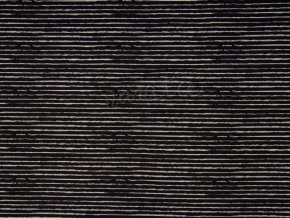 JERSEY STRIPE BLACK KC1472 369 (kopie)