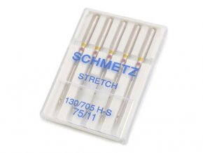 Strojové jehly Stretch 75 Schmetz