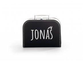 Kufřík černý se jménem