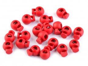 brzdičky kulaté červené