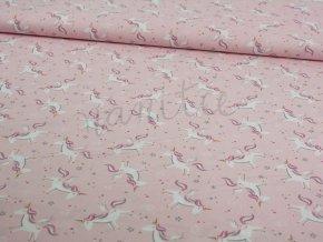 růžový jednorožec
