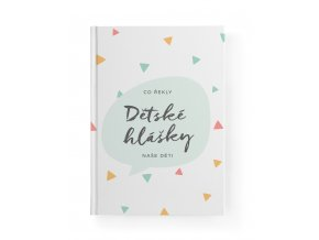 Bloque Detske hlasky trojuhelniky 00 cover