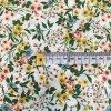Bavlněné plátno  - Anna, kytičky do žluta