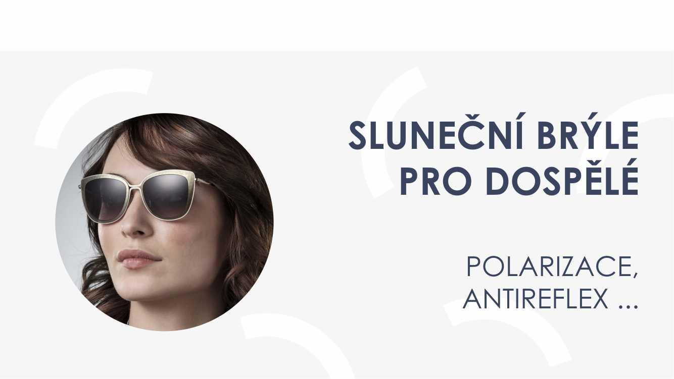 Sluneční brýle pro dospělé