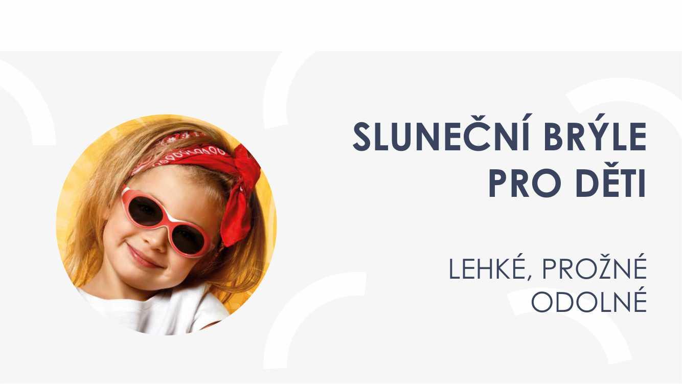 Sluneční brýle pro děti