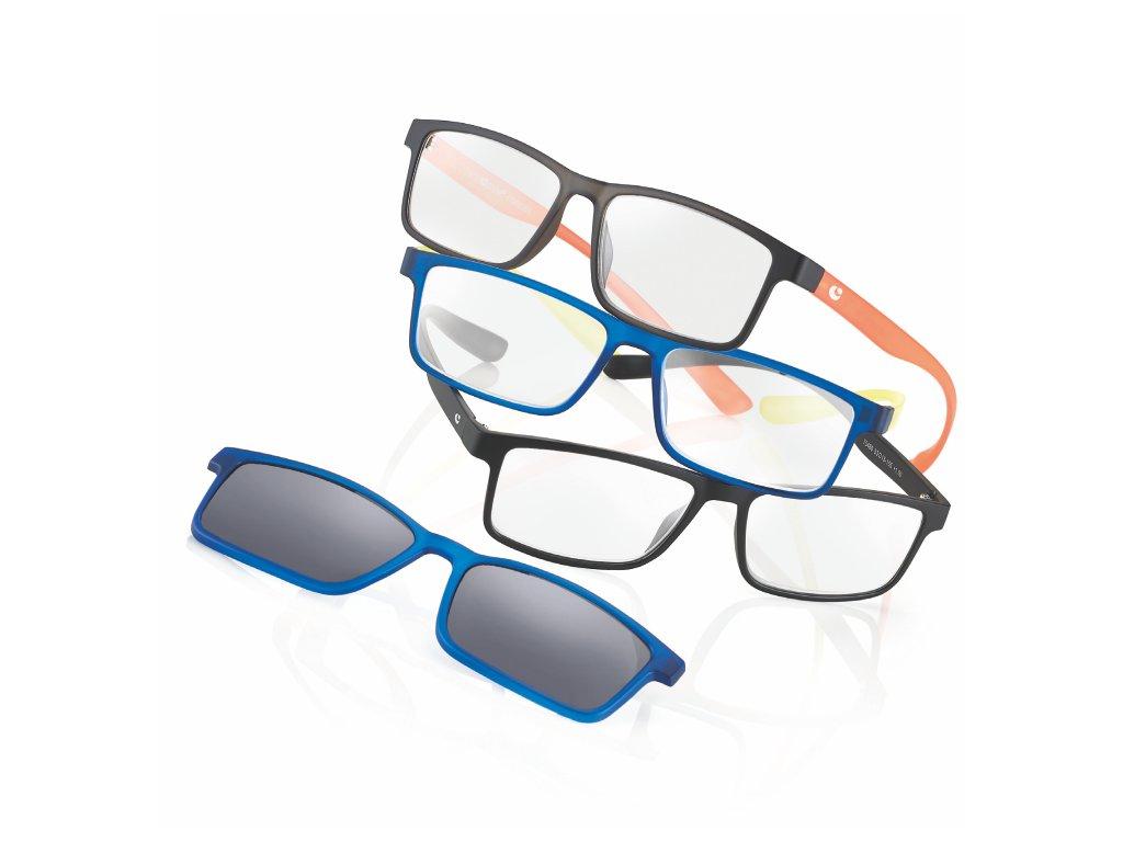 čtecí brýle s klipem 75460 d