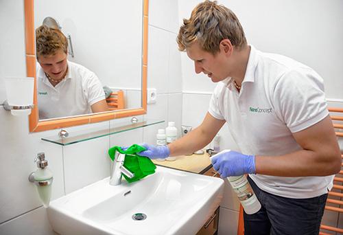 ochrana koupelny jako služba