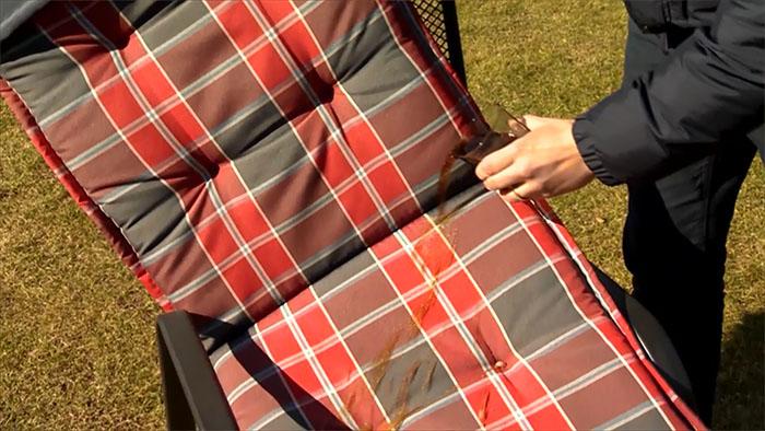 Nano impregnace textilu v pořadu Polopatě