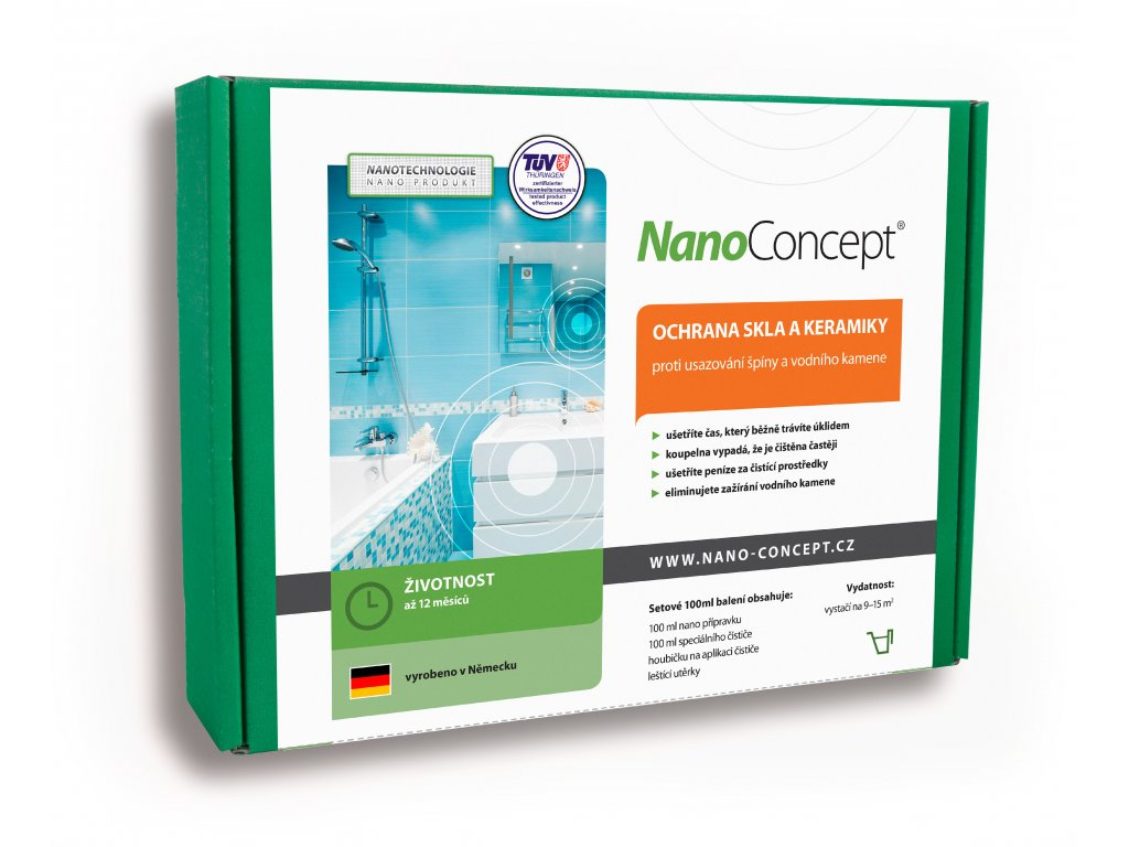 Nano ochrana skla a keramiky 100ml digitální retus