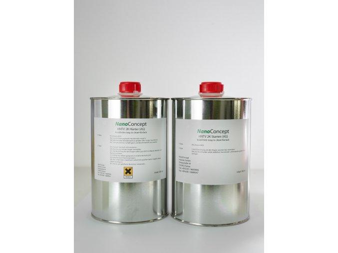 Dvousložkový nano lak HNTV 2K AG 1000ml