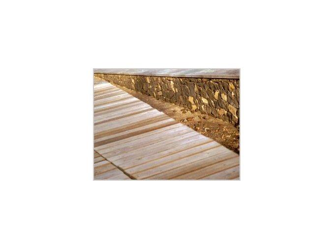 Set nano impregnace dřeva 250 ml