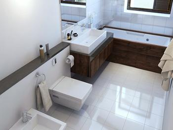 kúpeľňa bez vodného kameňa bude stále žiariť ako nová