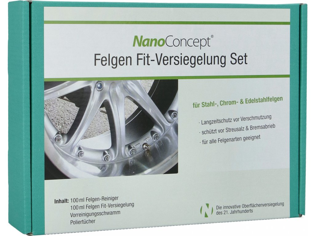 Set na ochranu diskov a ráfikov pred brzdným prachom 100 ml