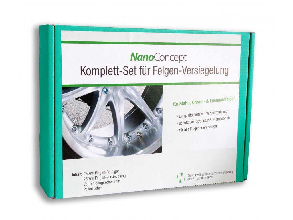 Set na ochranu diskov a ráfikov pred brzdným prachom 250 ml