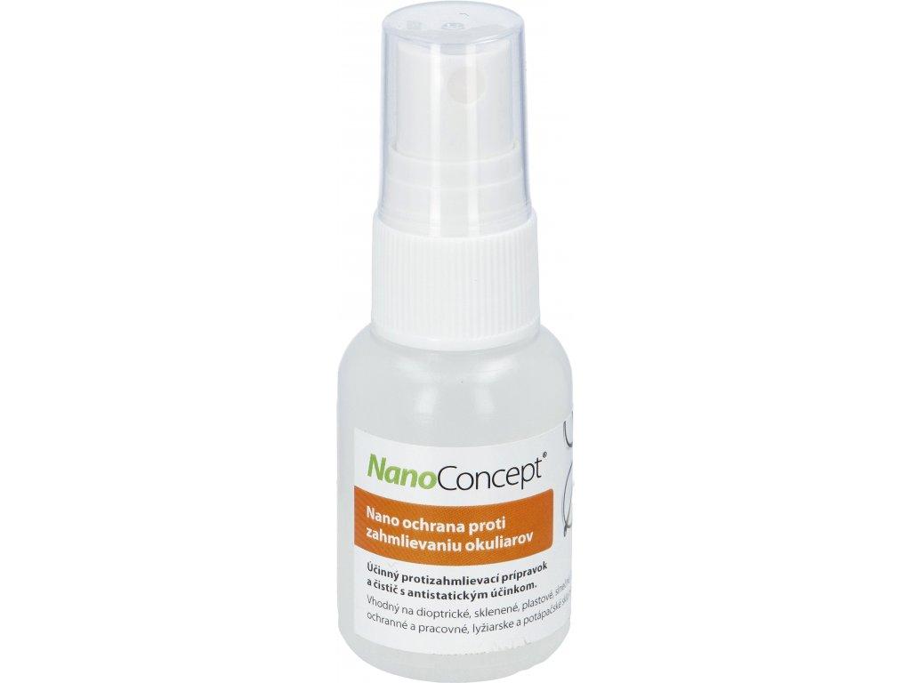 Nano ochrana proti zahmlievaniu okuliarov 30 ml