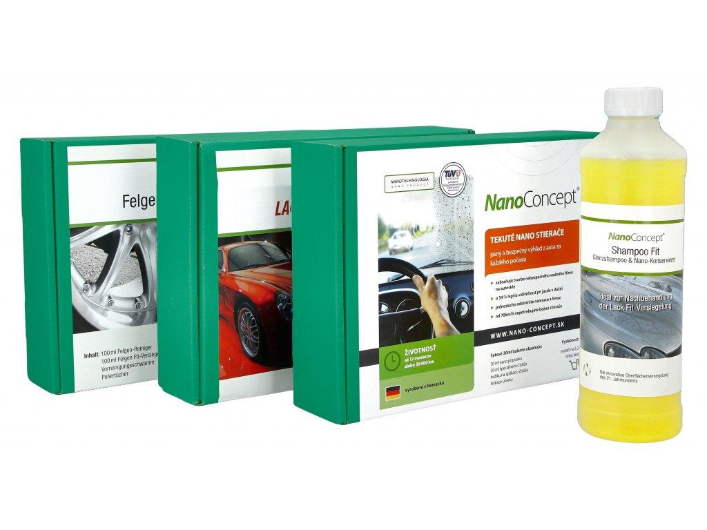 Ochrana laku, skla, ráfikov a zadarmo 500 ml šampón na lak