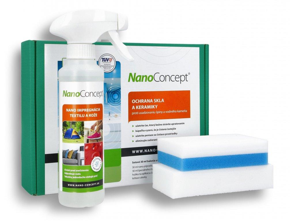 Set nano prípravkov pre domácnosť