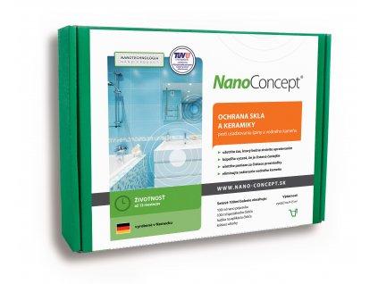 Set nano ochrana skla a keramiky proti usádzaniu špiny a vodného kameňa 100 ml