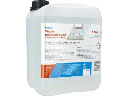 Super odstraňovač vodného kameňa im 610 - 5000 ml